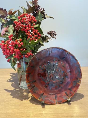 Vienetinė keramikinė lėkštė