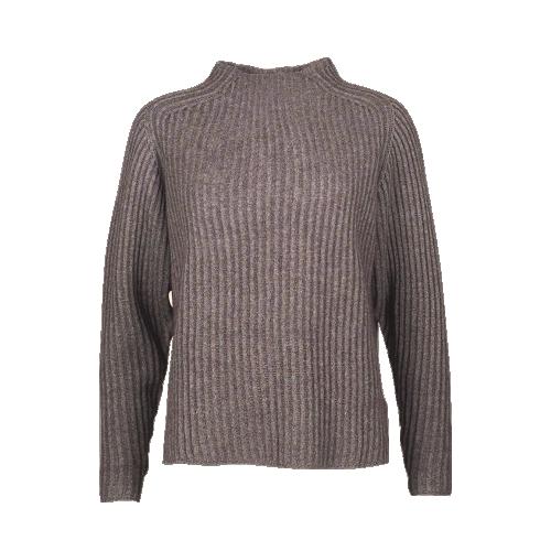Mansted riešuto spalvos jako vilnos megztinis